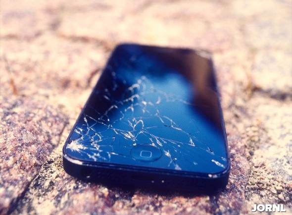 Сломанный iPhone