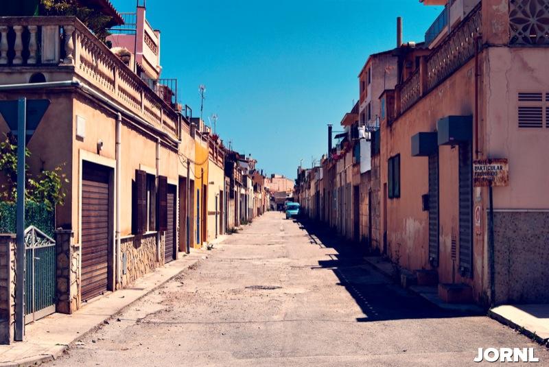 Бедный район Испании