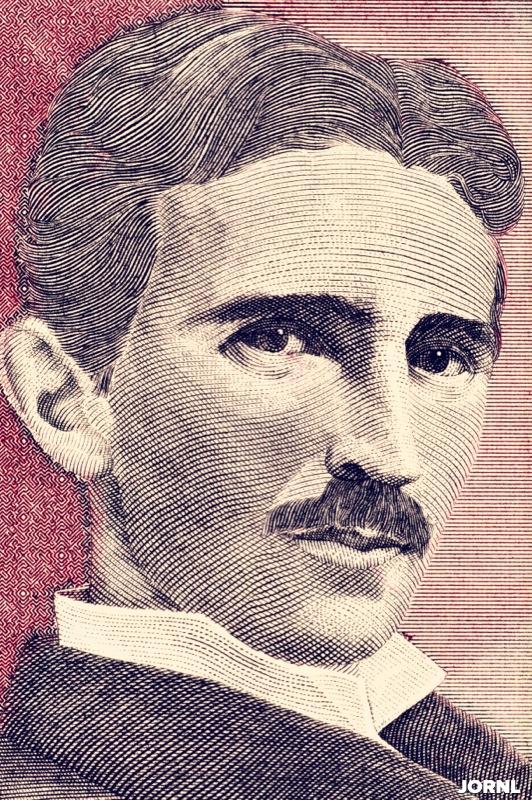 Никола Тесла, портрет