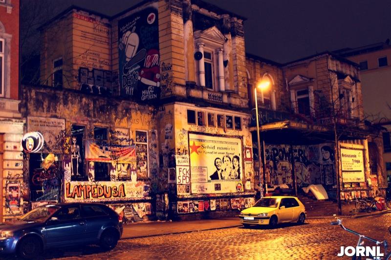 Здание Rote Flora, фото: Денис Цой
