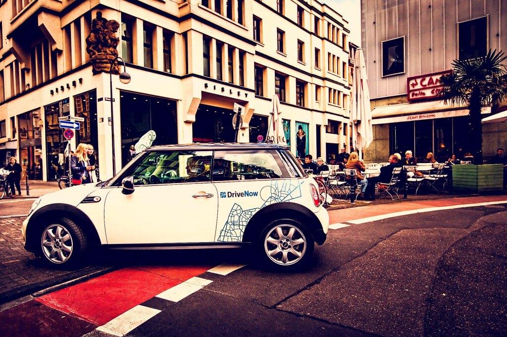 Каршеринг, DriveNow, каршеринг в Европе и России