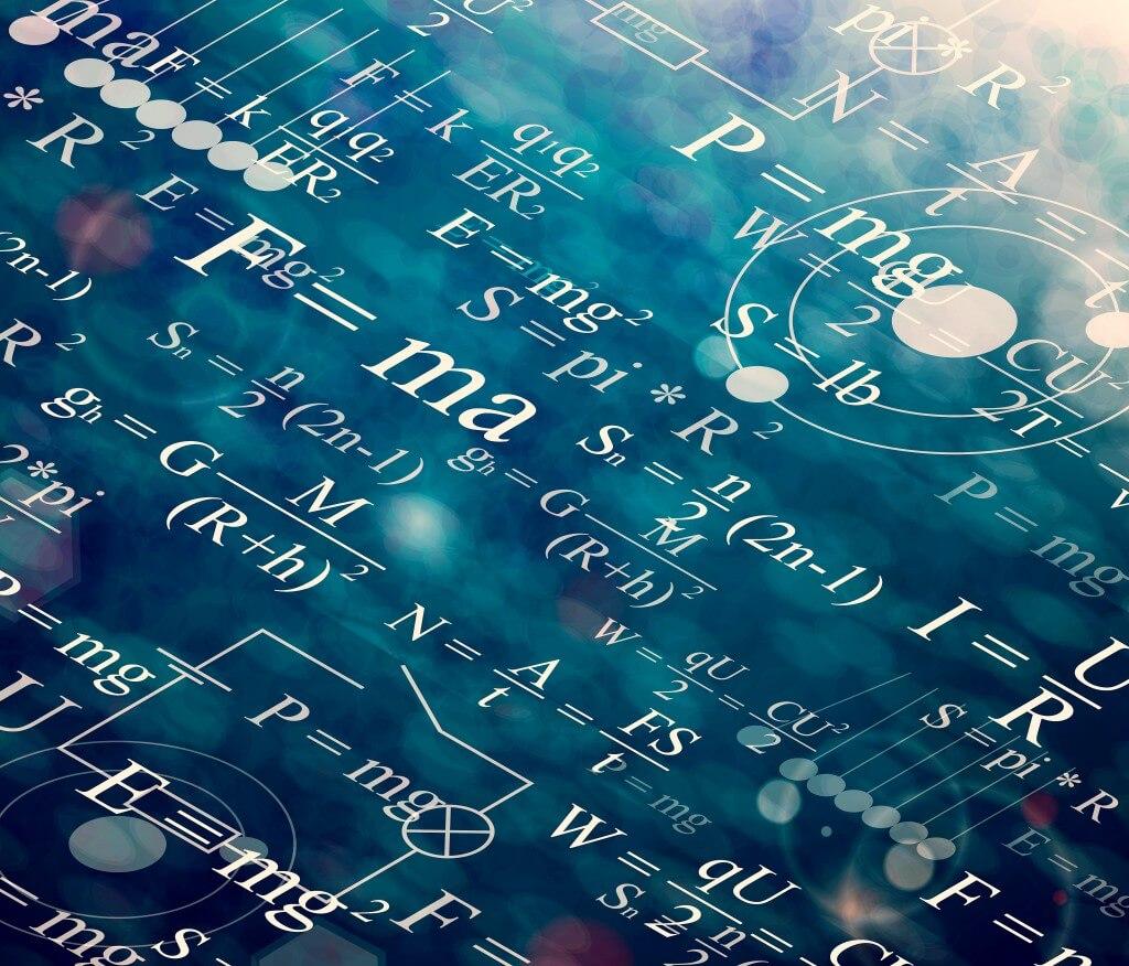 Формулы, фон, математика