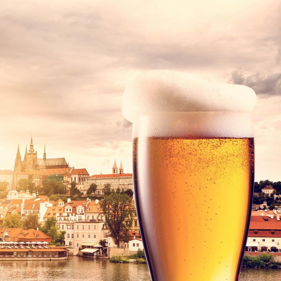 Прага, пиво